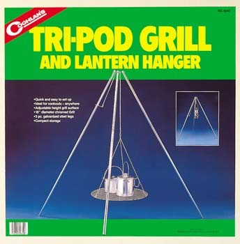 Tri-Pod Grill and Lantern Hanger
