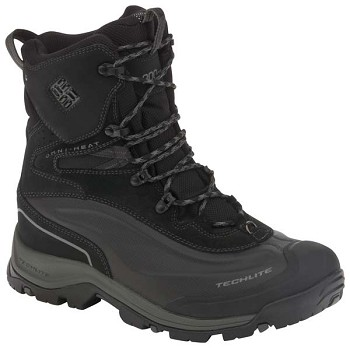 Columbia Bugaboot Plus II Black Insulated Winter Boot - BM3876-010