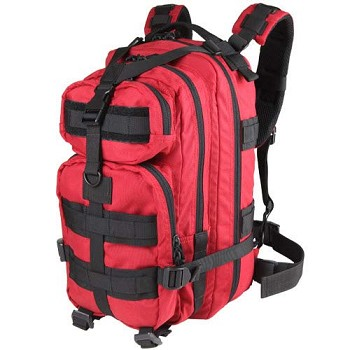 Red Compact Modular Style Assault Pack
