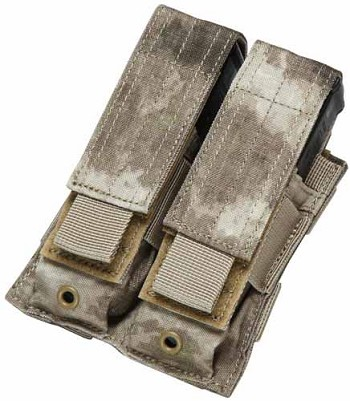 A-Tacs Double Pistol Mag Pouch