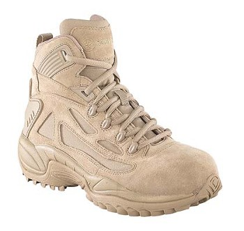 Converse Mens Rapid Response 6 inch Desert Tan Side Zip Composite Toe Military Boots- C8694
