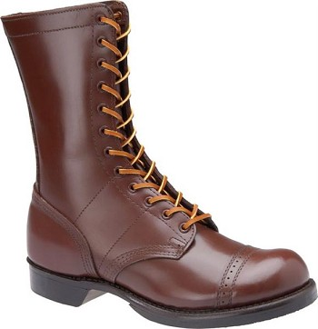 Corcoran Mens 10 Inch Historic Leather Combat Boots - 1510