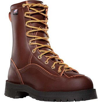Danner Rain Forest Brown 8-inch Waterproof Insulated Work Boots - 10800