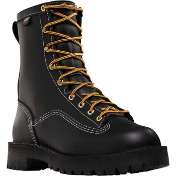 Danner Super Rain Forest 8-inch Black Composite Safety Toe Work Boot