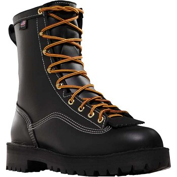 Danner Super Rain Forest 8-inch Black Insulated Work Boots