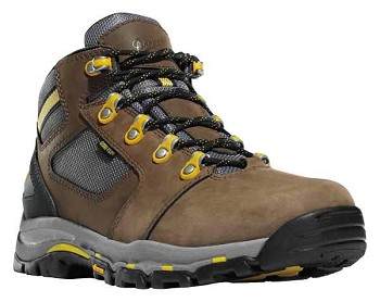 Danner Vicious 4-inch Brown Safety Toe Waterproof Work Boots - 13856