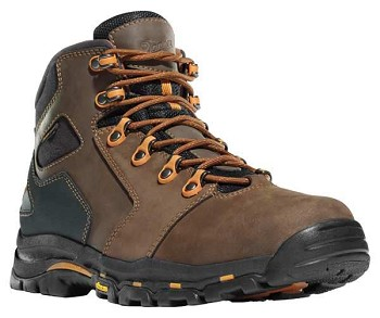 Danner Vicious 4.5-inch Brown Waterproof Work Boots - 13858