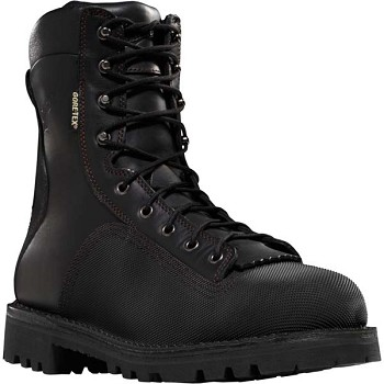 Danner Super Quarry 2.0 8-inch Black Waterproof Work Boots - 14527