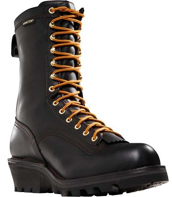 Danner Quarry Logger 10-inch Black Work Boot