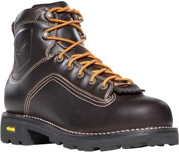 Danner Quarry 6-inch Brown Alloy Safety Toe Work Boot