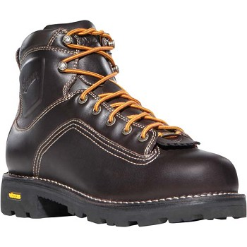 Danner Quarry 6-inch Brown Waterproof Work Boot