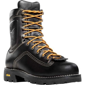 Danner Quarry 8-inch Black Alloy Safety Toe Work Boot