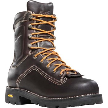 Danner Quarry 8-inch Brown Alloy Safety Toe Work Boot