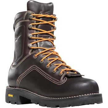 Danner Quarry 8-inch Brown 400 Gram Insulated Safety Toe Work Boot