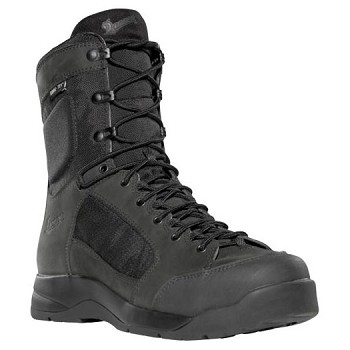 Danner Descender GTX 8-inch Black Waterproof Uniform Boot - 15404