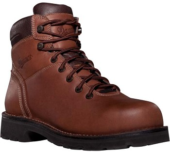 Danner Workman GTX 6-inch Brown Alloy Safety Toe Work Boot