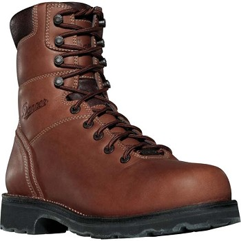 Danner Workman GTX 8-inch Brown Alloy Safety Toe Work Boot
