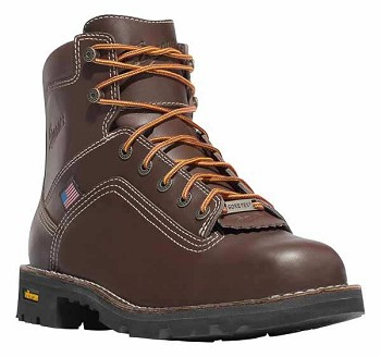 Danner Quarry USA Brown 6-inch Waterproof Work Boot - 17301