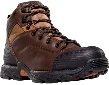 Danner Corvallis 5-inch Waterproof Brown Safety Toe Work Boots