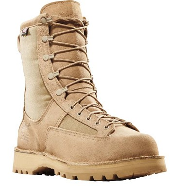 Danner Desert Acadia 8-inch Tan Steel Toe Military Boot
