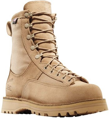 Danner Desert Acadia 8 in Tan Waterproof Military Boot