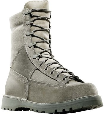 Danner USAF 8 Inch Sage Green Waterproof Military Boots
