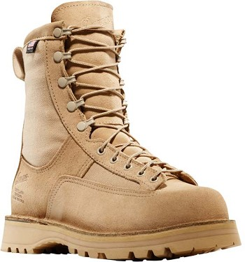 Danner Desert Acadia 8-inch Tan Military Boot