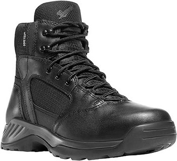 Danner 28017 Kinetic Side-Zip 6 Inch Black Waterproof Duty Boots
