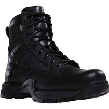 Danner Striker II Side Zip 6 inch Mens Black Uniform Tactical Boot