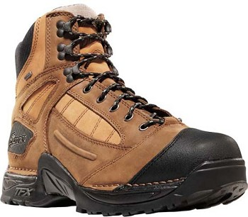 Danner Instigator 6-inch Brown Steel Toe Work Boot