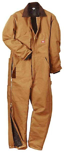 Dickies Brown Premium Duck Overalls - TV239-BD