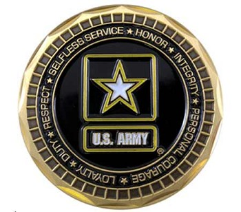 Got Freedom Army Challenge Coin
