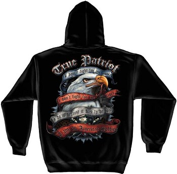 American Soldier True Patriot Hoodie