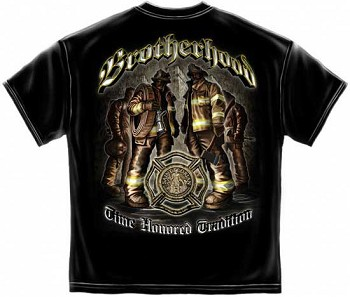 Time Honored Tradition Firefighter Brotherhood T-shirt