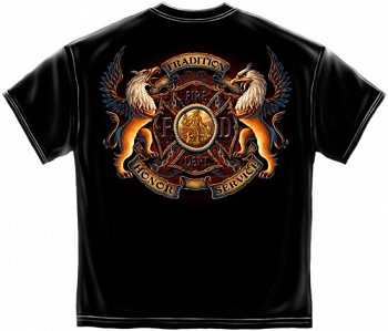 Fire Department Honor and Service T-shirt