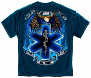 Service Before Self EMS T-Shirt