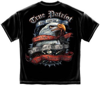 American Soldier True Patriot T-shirt