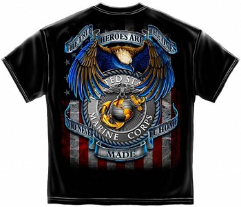 Marine True Heroes T-Shirt