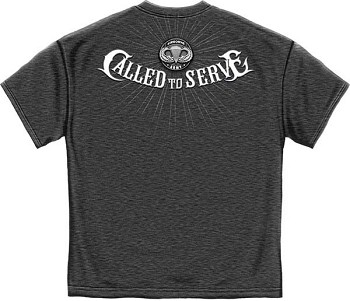 Airborne Army Called to Serve T- Shirt - Charcoal Heather