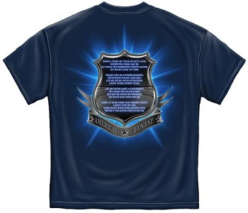 America's Finest Thin Blue Line Police T-shirt