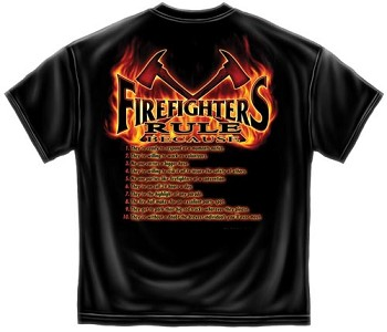 Firefighters Rule T-shirt