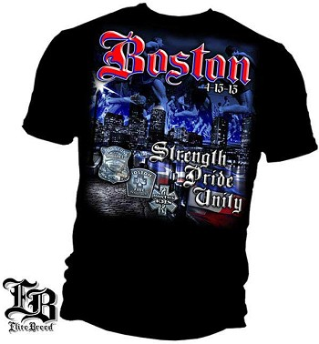 Elite Breed Boston Strong T-Shirt - Black