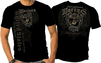 Marine Corps Elite Breed Rise Above Fear T-Shirt