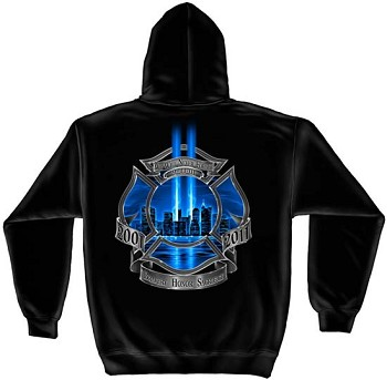 We Will Never Forget Fire Department Hoodie