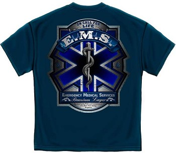 EMS On Call for Life Premium Lager T-Shirt