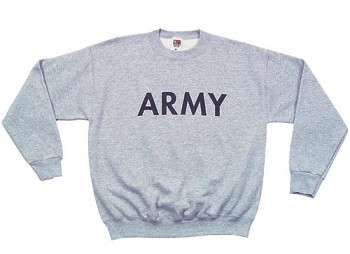 Kids Grey 'Army' Sweatshirt