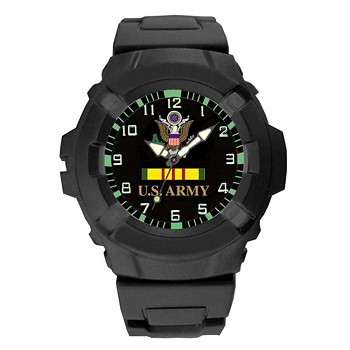 Aqua Force Analog Vietnam Vet U.S. Army Watch - 24WB