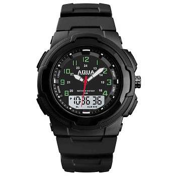 Combo Black Tactical Watch