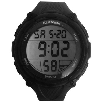 Green and Black Jumbo Digital Tactical Watch