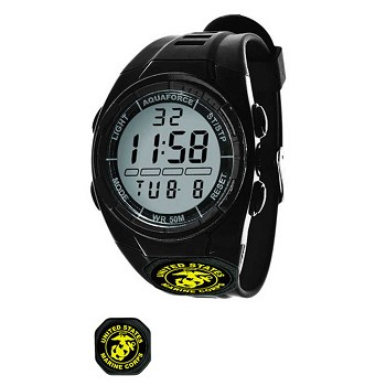 Digital U.S. Marines Black Tactical Watch